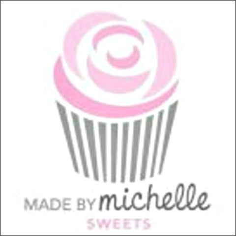Made by Michelle Mark - logo via IG @madebymichelle