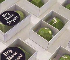 Matcha Chocolate candy by Hey there sugar @hey.there.sugar