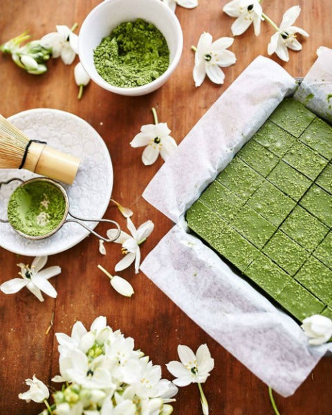 Homemade Matcha Nama Chocolate Recipe, Delicious just like Royce' Nama Chocolates!