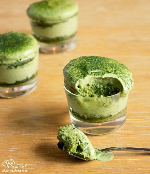 Matchamisu Green Tea Tiramisu by Oh How Civilized