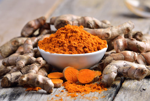 Turmeric has a wonderful anti-inflammatory property which helps prevent aging, free radical formation and relieve pains.