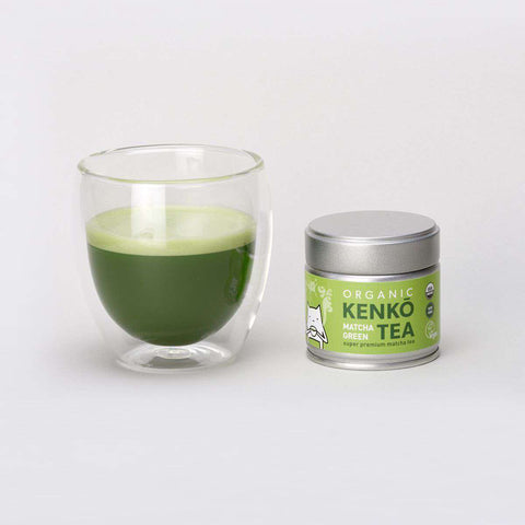 Matcha in glass