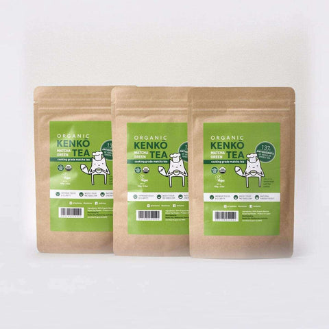 Organic Matcha - Cooking Grade 100g (3 Pack)