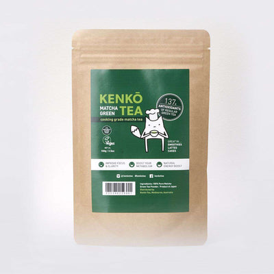 Culinary Grade Matcha Powder - 100g Bag