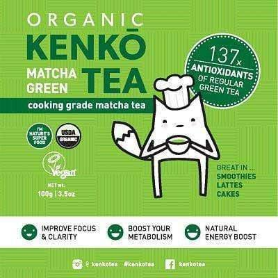 Organic Matcha - Cooking Grade 100g (3 Pack - Save $15)