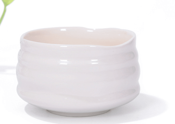 White Matcha Tea Bowl (Chawan)