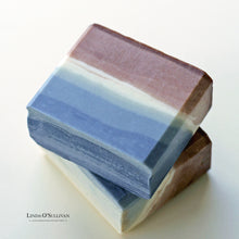 Load image into Gallery viewer, Indigo Soap Handmade in the UK by Linda O'Sullivan