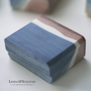 Indigo Soap Handmade in the UK by Linda O'Sullivan