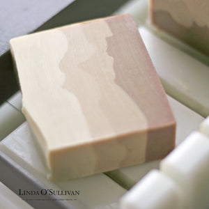 Sandcastles - Natural Handmade Soap - Made in the UK by Linda O'Sullivan