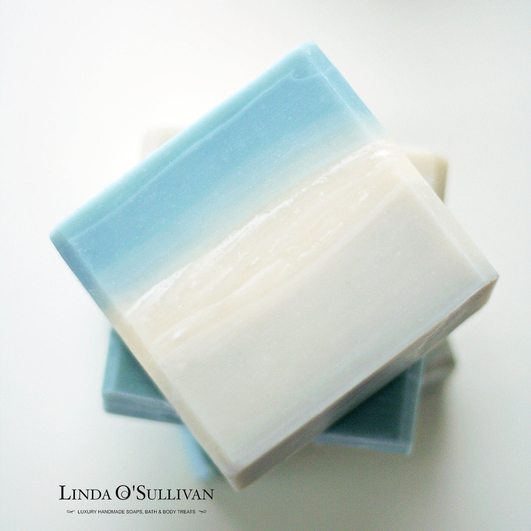Seaweed Soap handmade in the UK by Linda O'Sullivan