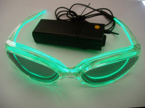EL Sunglasses (+ Inverter & Batteries) - Glow Sticks Wholesale