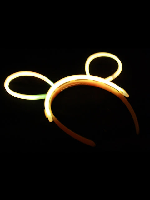 Glow Bunny Ears x 24 - Glow Sticks Wholesale