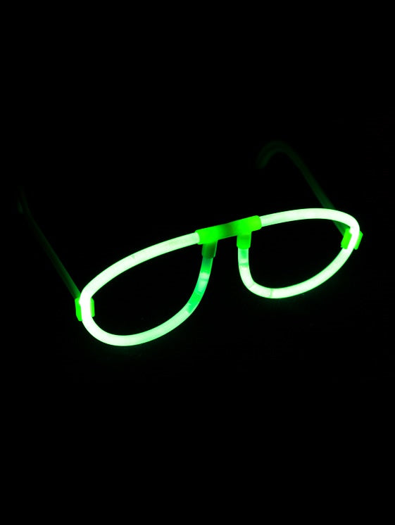 Glow Glasses x 30 (Individually Wrapped) - Glow Sticks Wholesale