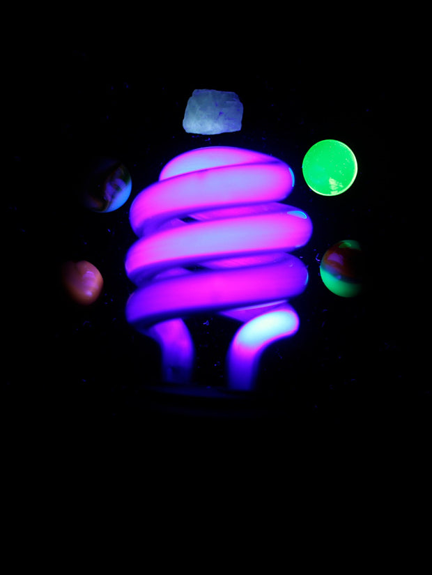 2 x UV Light Bulbs - Blacklight - Glow Sticks Wholesale