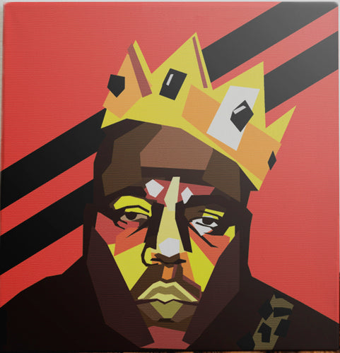 Notorious Big portrait