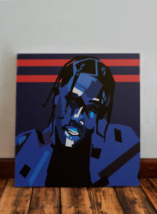 Travis Scott Hand-Made Portrait
