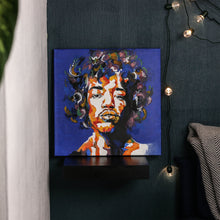 Load image into Gallery viewer, Jimi Hendrix Hand-Made Portrait