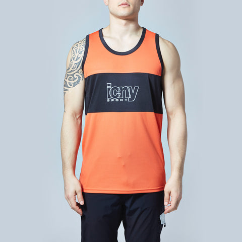 Sport Reflective Tank Top (Red)