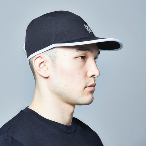 Court Reflective 5-Panel Cap (Black)