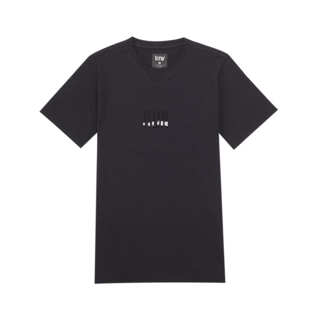 Run Reflective T-Shirt (Black)