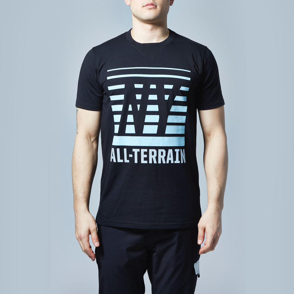 All-Terrain Reflective T-Shirt (Black)