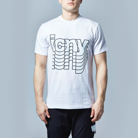 Fade Reflective T-Shirt (White)