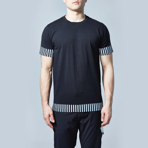 Edge Reflective T-Shirt (Black)
