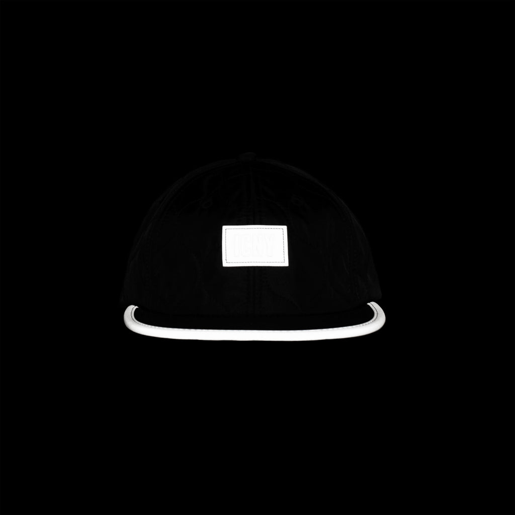 Shelter Reflective 6-Panel Ball Cap (Black)