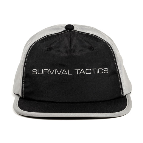 Tactics Reflective 5-Panel Ball Cap (Black)