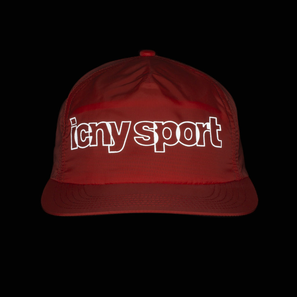 Sport Reflective Ball Cap (Red)