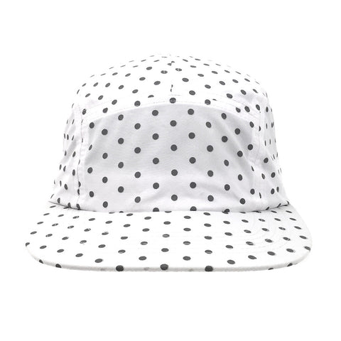 Dot 2.0 5-Panel Cap (White)