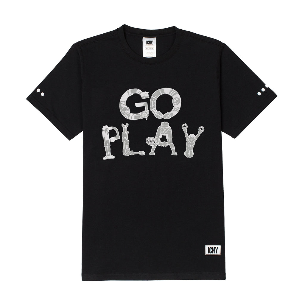 Go Play 3M Reflective T-Shirt (Black)