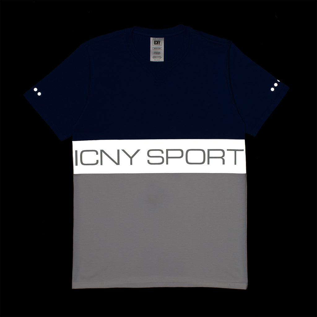 Block Sport 3M Reflective T-Shirt (Royal)