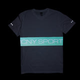 Block Sport 3M Reflective T-Shirt (White)