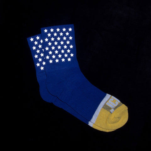 Stars Reflective Socks