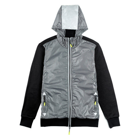 SAMPLE SALE Shield Reflective Hooded Jacket