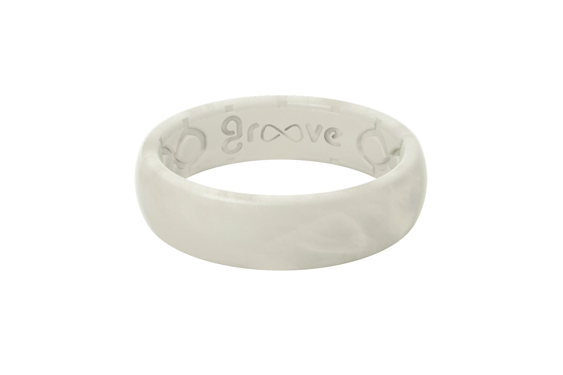 Groove Life Thin Solid Pearl Ring