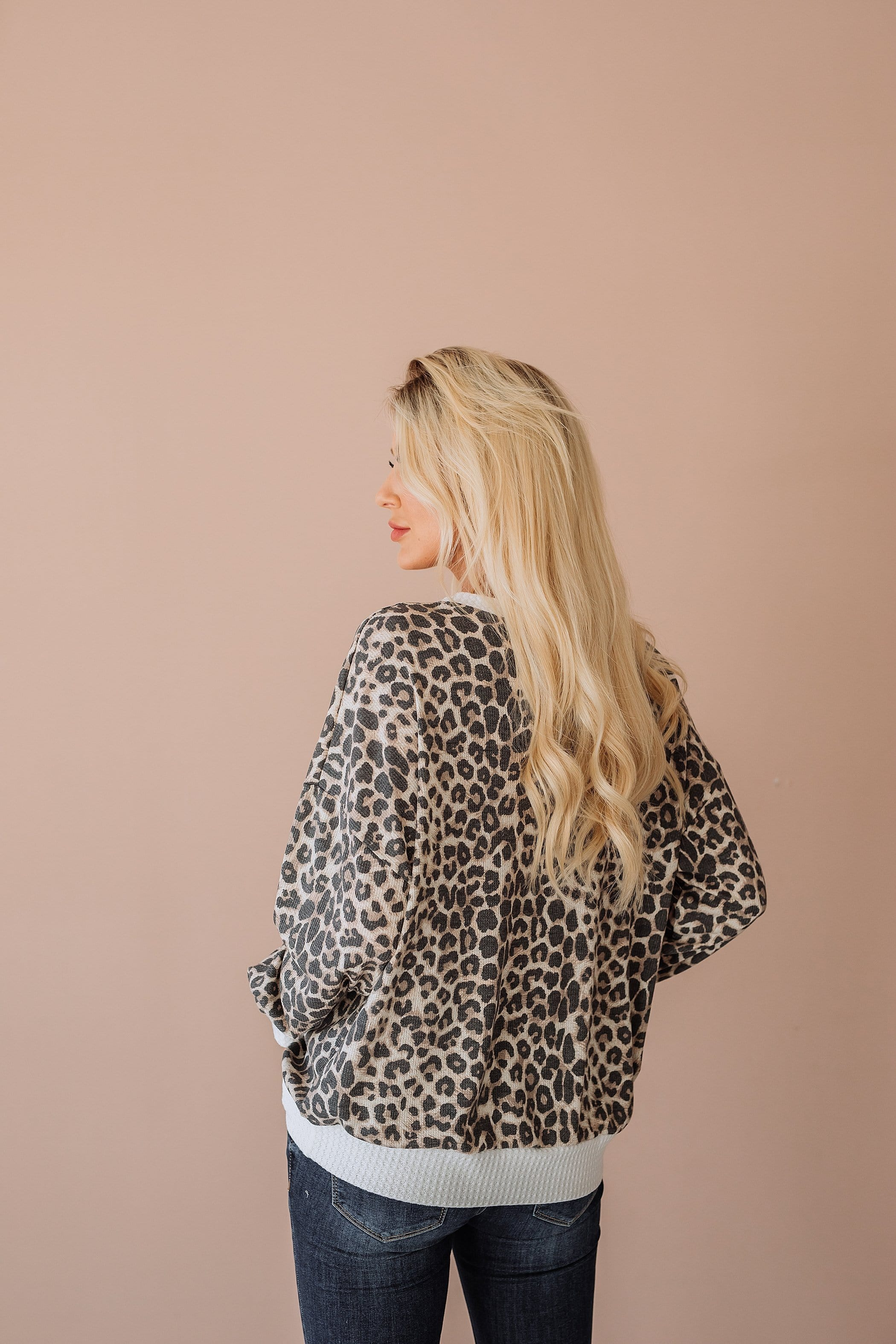 The Hilary Top in Animal Print