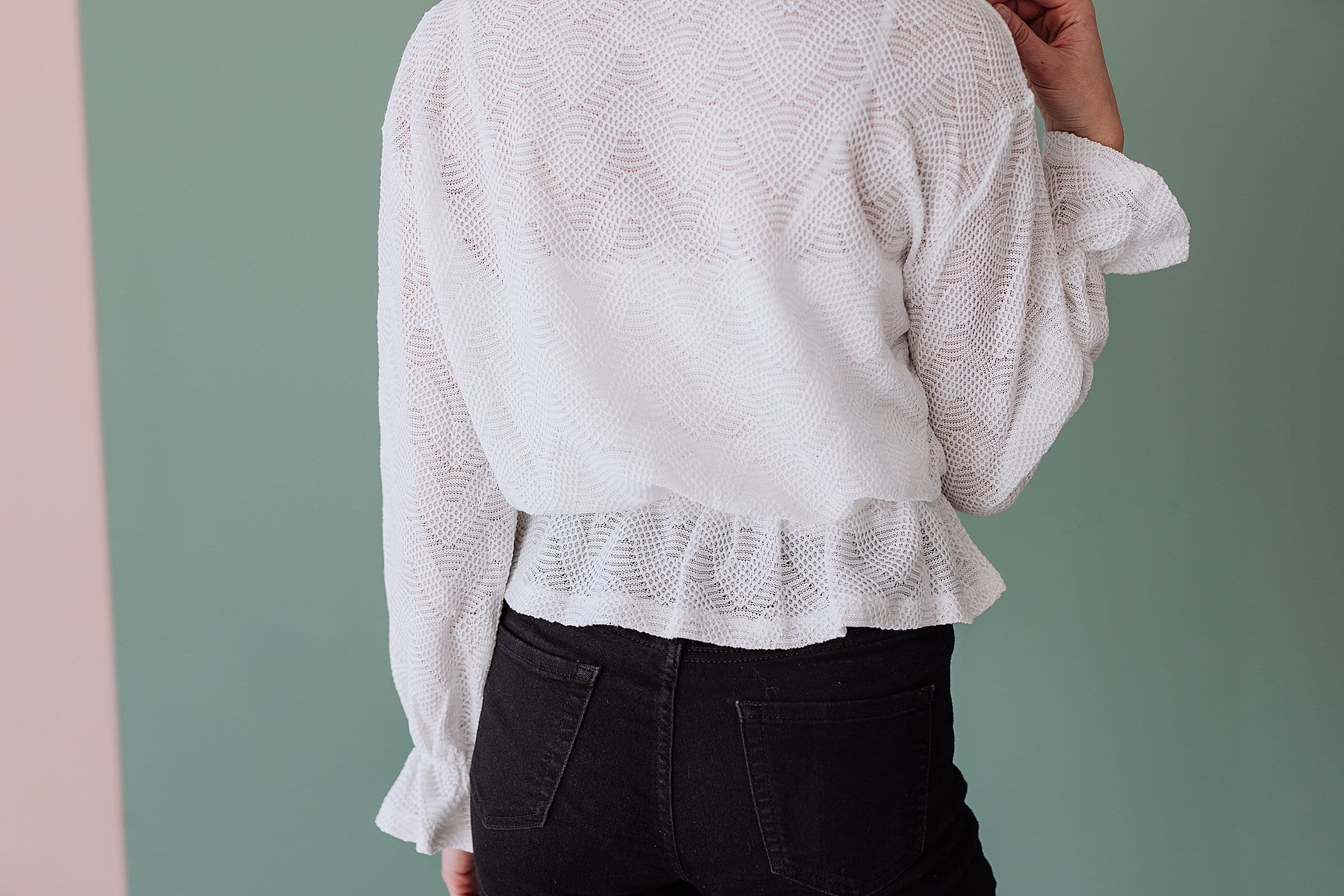 The Ruston Knit Sweater in White