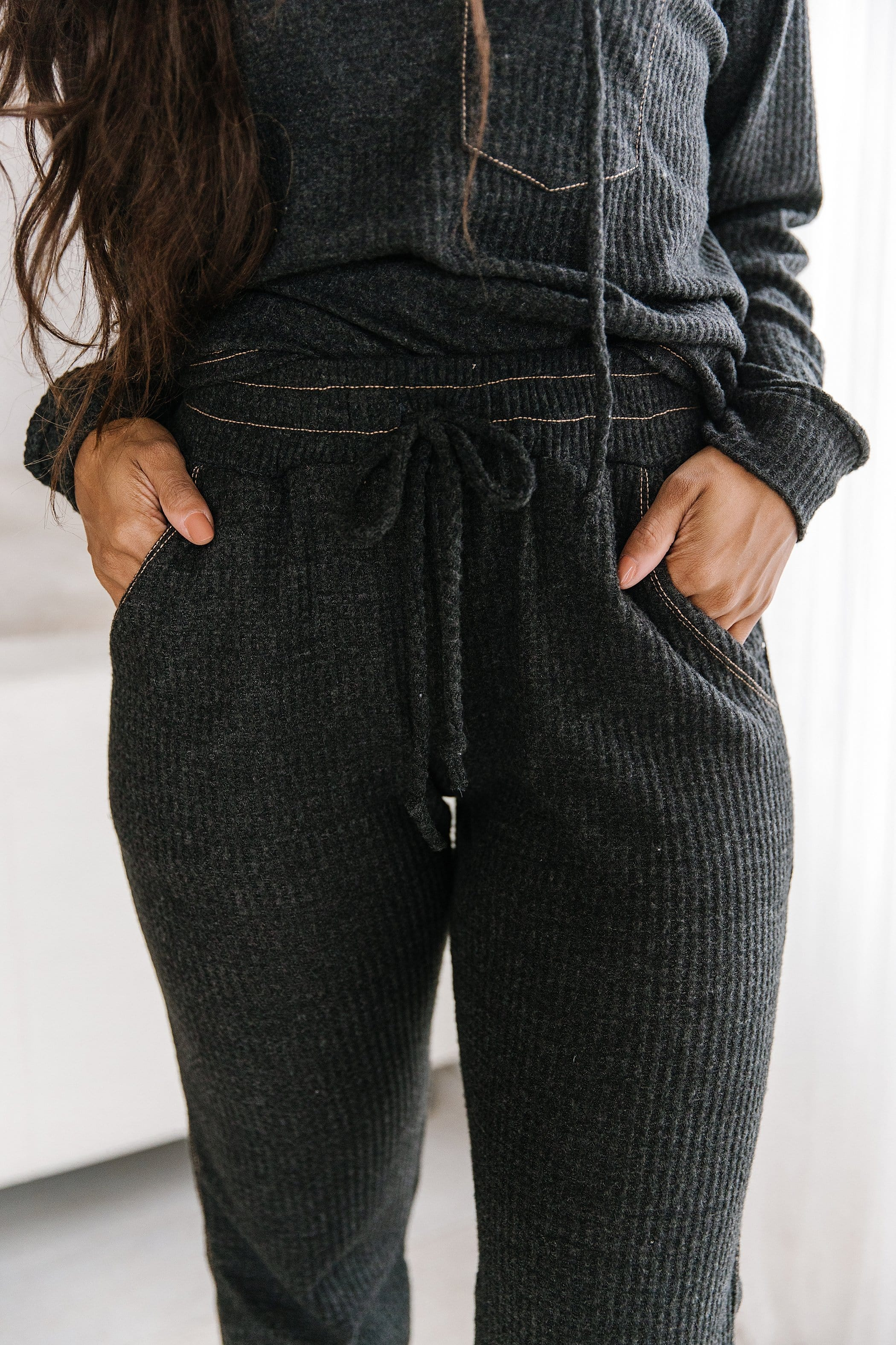 The Breyton Jogger Pants in Charcoal