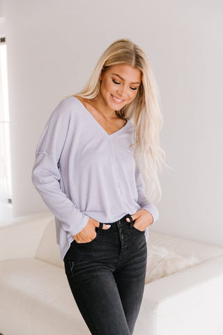 The Isabelle Tulip Sleeve Top in Black