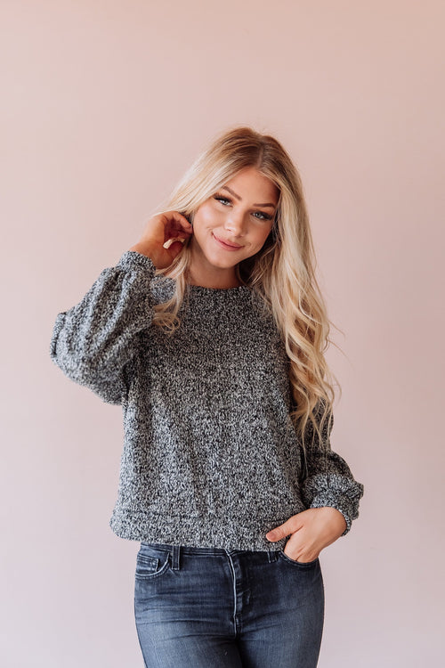 The Melora Sweater in Grey or Rust