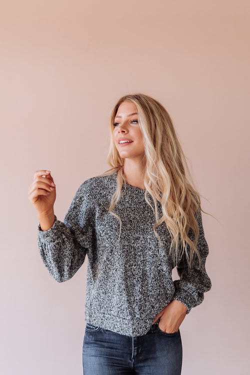 The Melora Sweater in Grey
