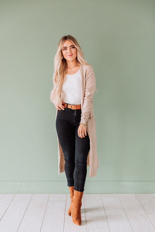 The Dream Cardigan in Oatmeal