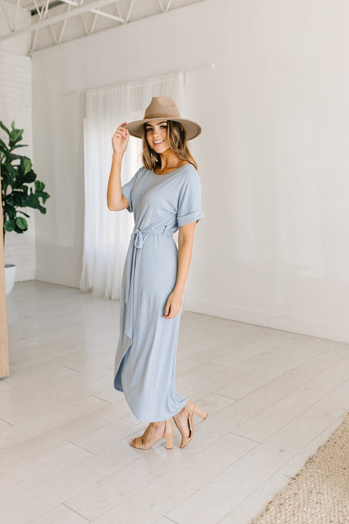 The Carter Wrap Tie Dress