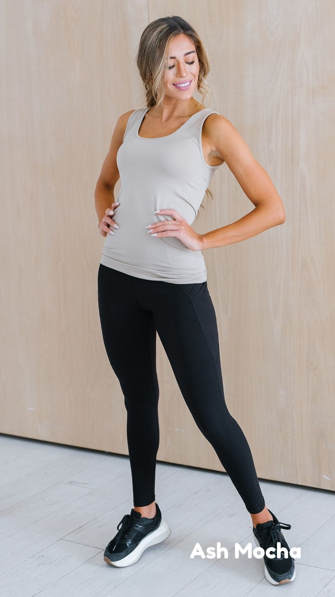 The Susanna Scoop Neck Tank Top in Multiple Colors