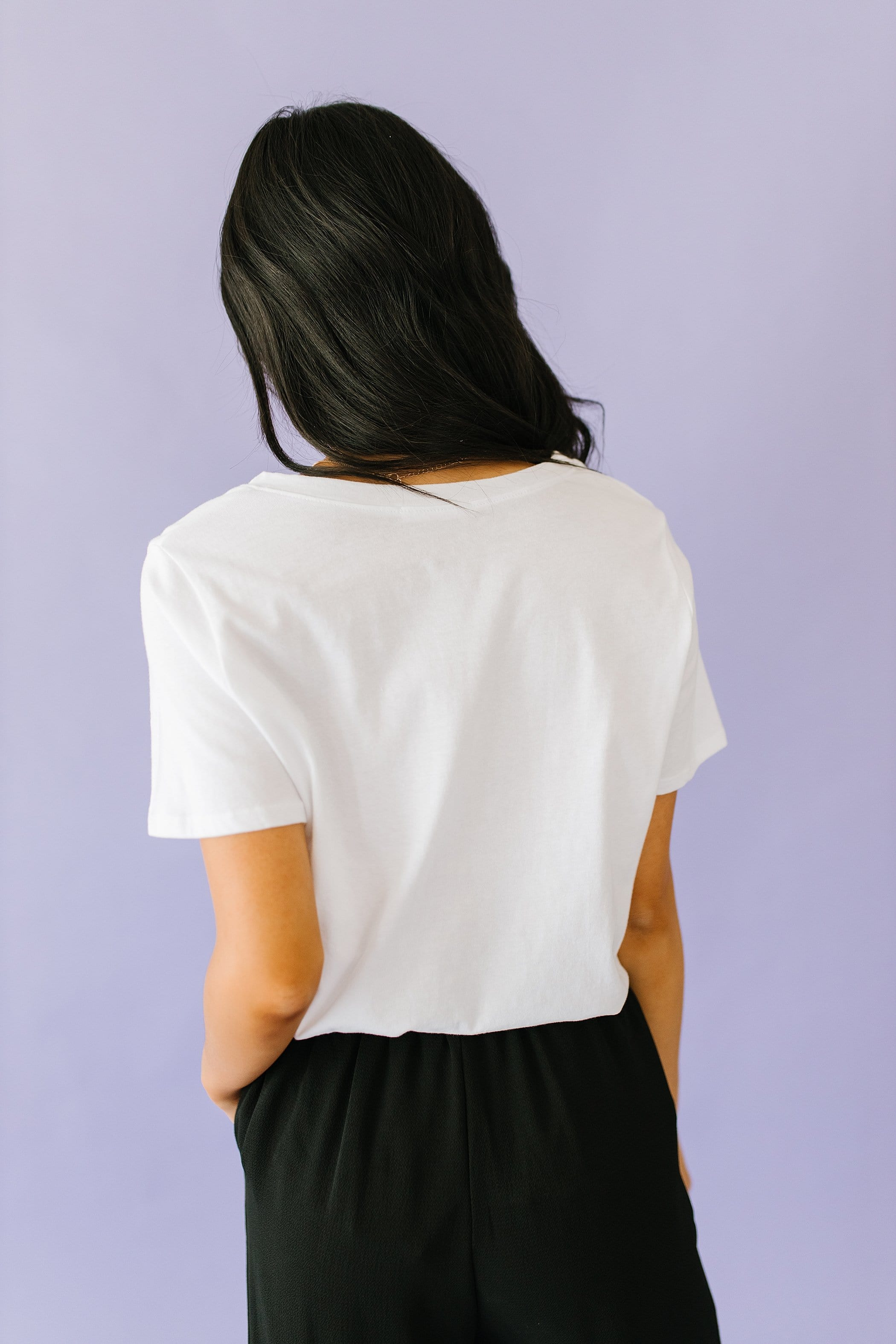The Being Kind is Free Top in White