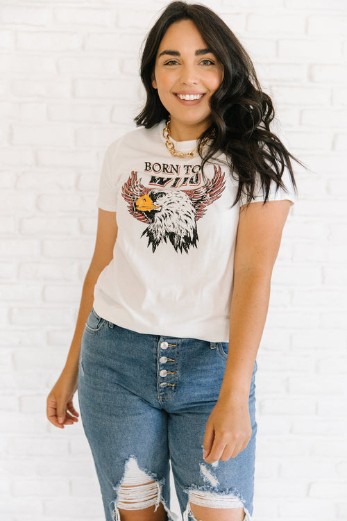 The Born To Be Wild Graphic Top
