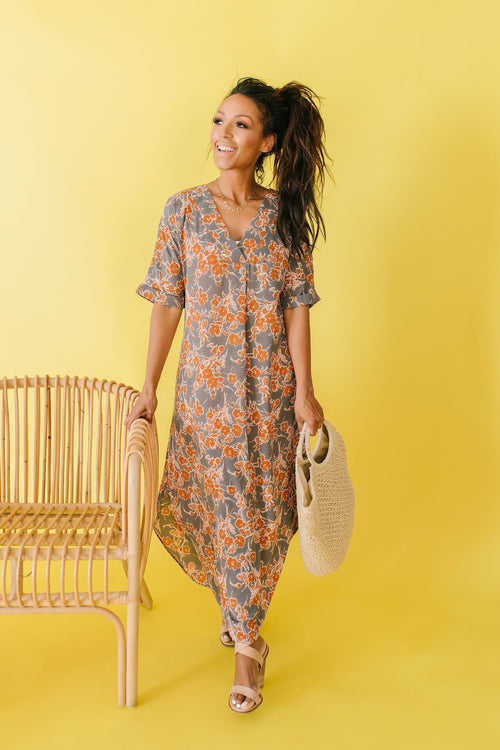 The Cinna Floral Maxi Dress