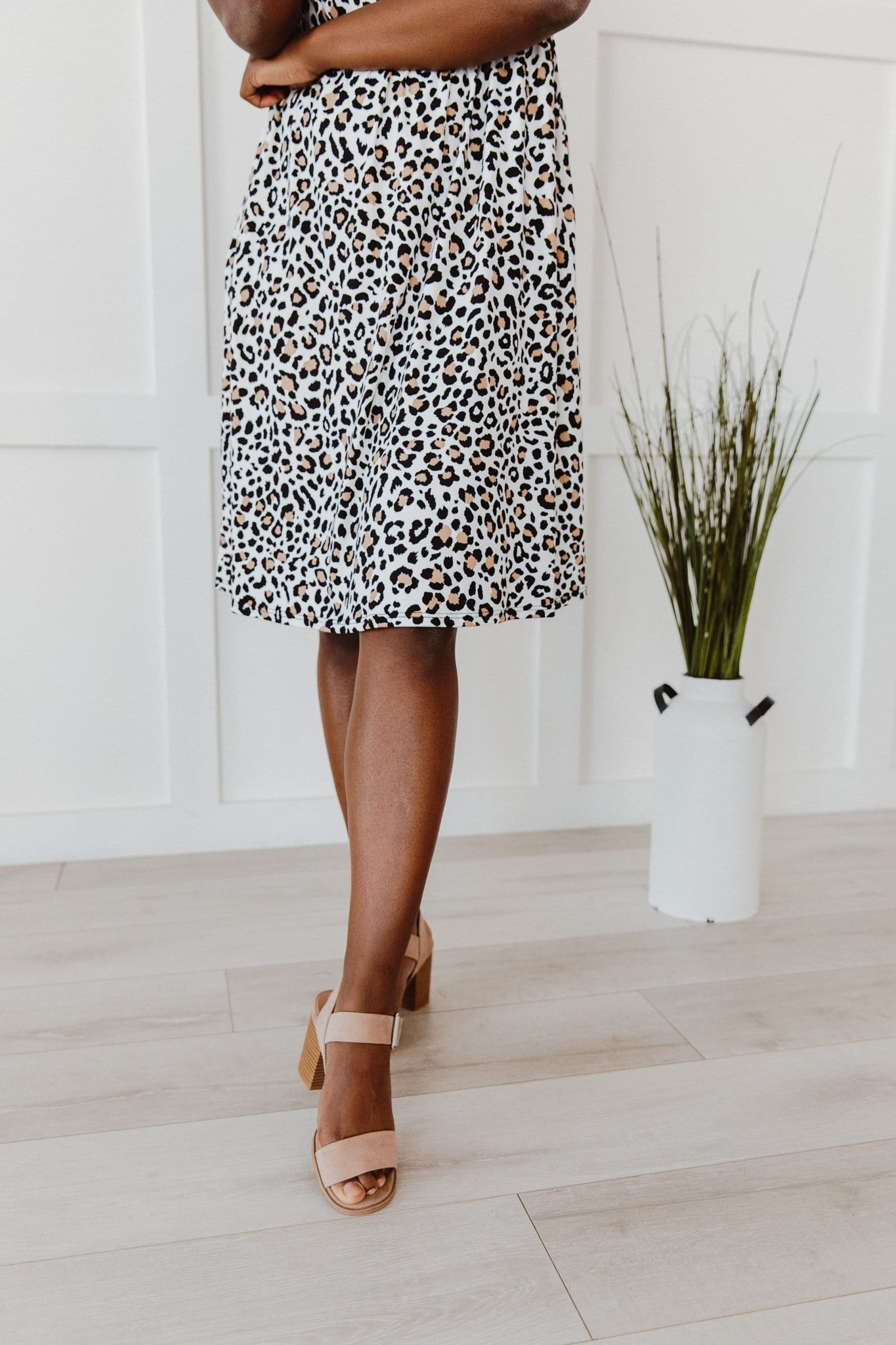 The Kali Pocket Dress in Animal Print